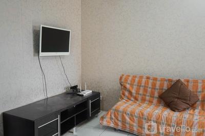 2BR for 3 Pax Mediterania Marina Ancol Apartment By Travelio