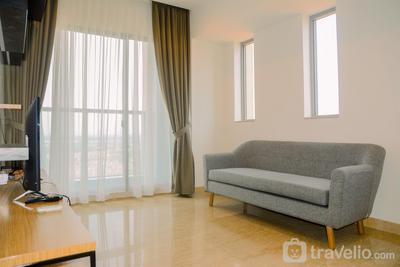 Luxurious and Pleasant 2BR Branz BSD City Apartment By Travelio