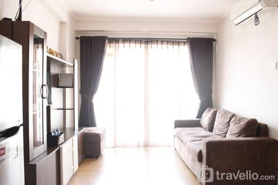 Homey 2BR Apartment at Gateway Pasteur near Exit Toll By Travelio