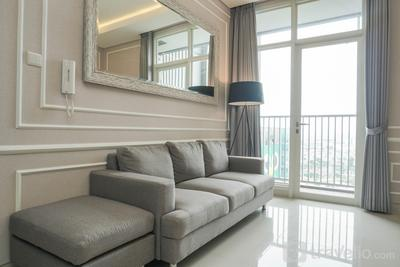 Luxury and Homey 2BR Ciputra Internasional Apartment By Travelio