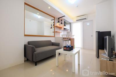 Compact 2BR Bassura City Apartment near Jatinegara By Travelio