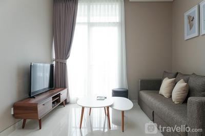 Lavish 1BR Residence at Ciputra International Apartment By Travelio