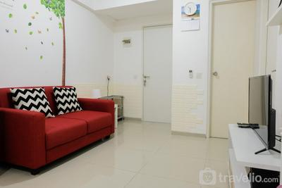 Artistic 2BR (No Kitchen) Apartment Aeropolis Residence By Travelio