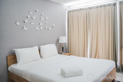 Minimalist and Warm Studio Apartment at Bintaro Plaza Residence By Travelio