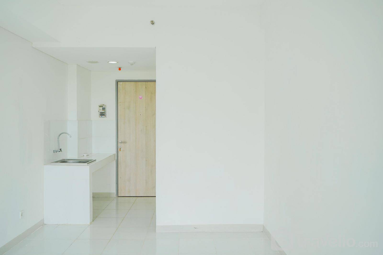 Apartemen Akasa Pure Living BSD - Relax Stay @ Unfurnished Studio Akasa Apartment with AC By Travelio
