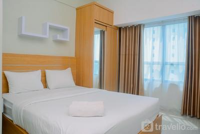 New Furnsihed Studio Room @ Springlake Bekasi Apartment By Travelio