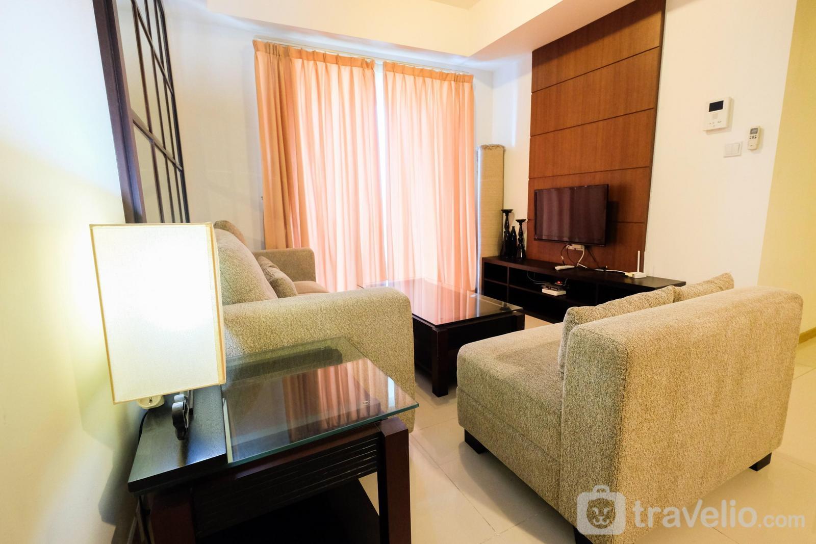 Casa Grande Residence - Homey 2BR Apartment @ Casa Grande Residence By Travelio