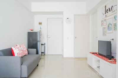 Comfy and Modern 2BR (No Kitchen) Apartment at Aeropolis Residence By Travelio