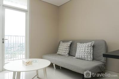 Graceful 1BR Ciputra International Apartment By Travelio