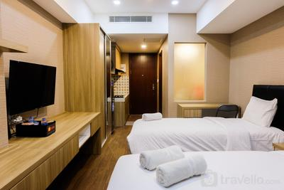U Residence Studio Apartment for 3 Pax By Travelio