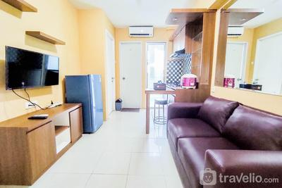 Homey and Cozy Living 2BR at Bassura City Apartment By Travelio
