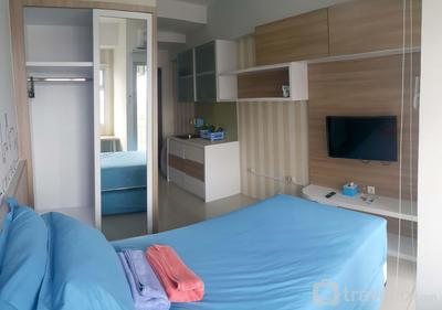 Full Furnished Studio Room 15th Floor At Gunawangsa Merr Apartment