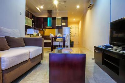 Fantastic View FX Sudirman 2 BR Apartment By Travelio
