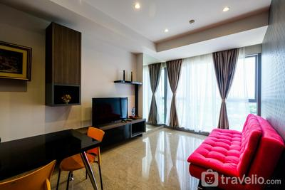 Elegant 1BR Branz BSD Apartment near AEON Mall By Travelio