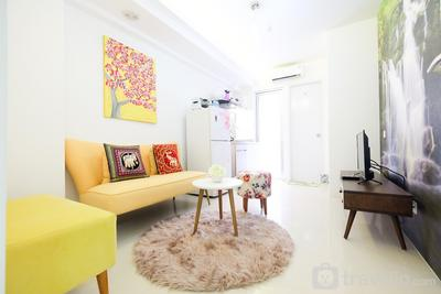 Best Designed 2BR Bassura City Apartment By Travelio