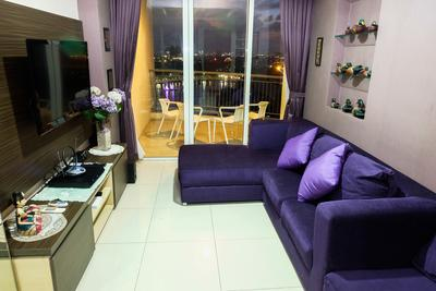 Spacious & Seaview 2BR Ancol Mansion Apartment By Travelio