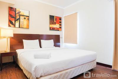 1BR Super King Bed Ancol Marina Apartment By Travelio