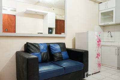 Warm 2BR Apartment Cibubur Village By Travelio