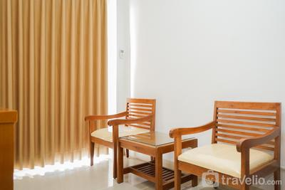 Homey 1BR at Signature Park Grande Apartment By Travelio