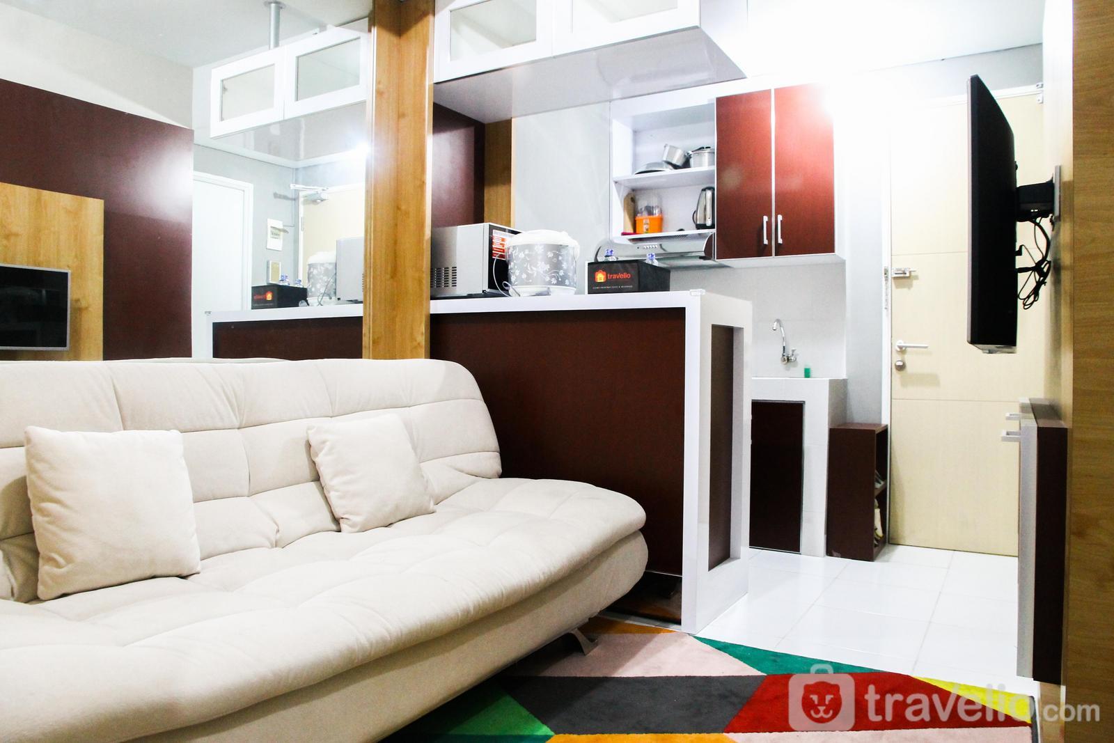 Ayodhya Residence Tangerang - Strategic 2BR Ayodhya Apartment By Travelio