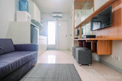 Cozy and Simple 2BR at Kalibata City Residence near Kalibata Station By Travelio
