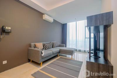 Modern and Spacious 2BR L'Avenue Apartment By Travelio