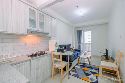 Minimalist 2BR Apartment at Signature Park Grande near MT. Haryono By Travelio