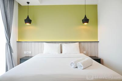 New Furnished with Strategic Place @ Studio West Vista Apartment By Travelio