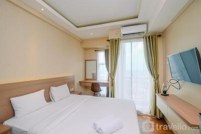 Best and Compact Studio Akasa Pure Living Apartment By Travelio