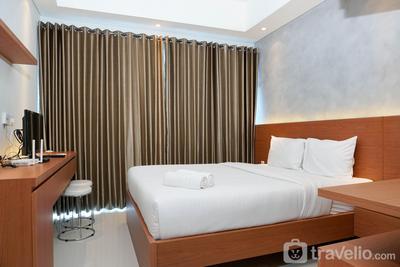 Relaxing Studio Puri Mansion Apartment By Travelio
