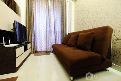 Homey 2BR Westmark Tanjung Duren Apartment near Taman Anggrek By Travelio
