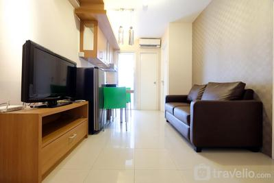 Comfy 2BR Green Palace Kalibata Apartment By Travelio