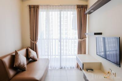 Modern Living 1BR at Saveria Apartment By Travelio