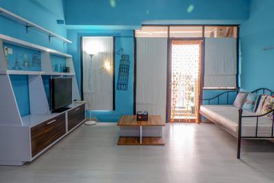 2BR Modern Minimalist Salemba Residence  By Travelio