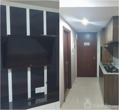 Full Furnished Studio Room 12th Floor At Grand Sungkono Lagoon Apartment