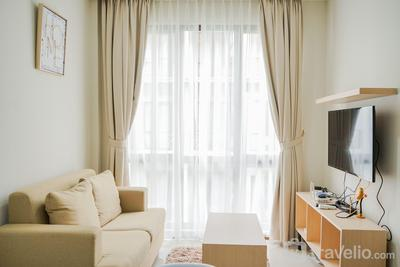 Elegant and Relaxing 1BR Asatti Apartment BSD By Travelio