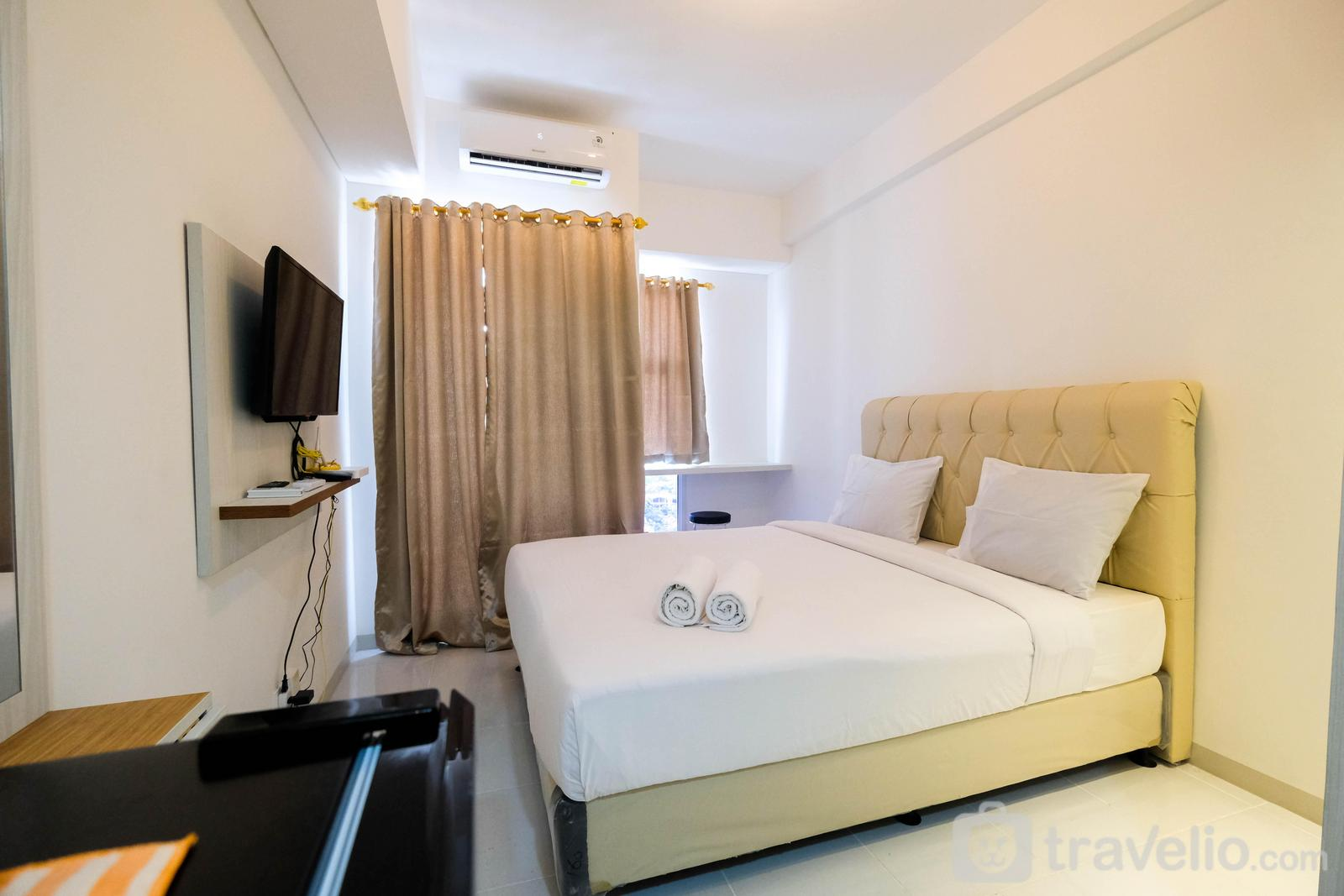 Akasa Pure Living BSD  - Gorgeous Studio Apartment at Akasa Pure Living BSD By Travelio