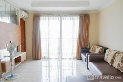 Best Price 3BR Apartment at Mediterania Lagoon Kemayoran By Travelio