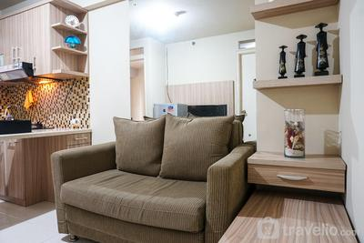 Cozy and Homey 2BR at Kalibata City Apartment By Travelio