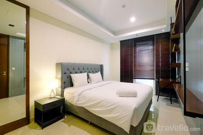 Good View 2BR Apartment at Pondok Indah Residence By Travelio