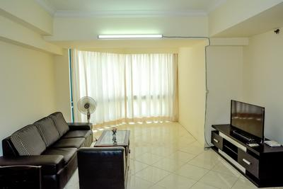 Best Location 2BR Taman Anggrek Apartment By Travelio