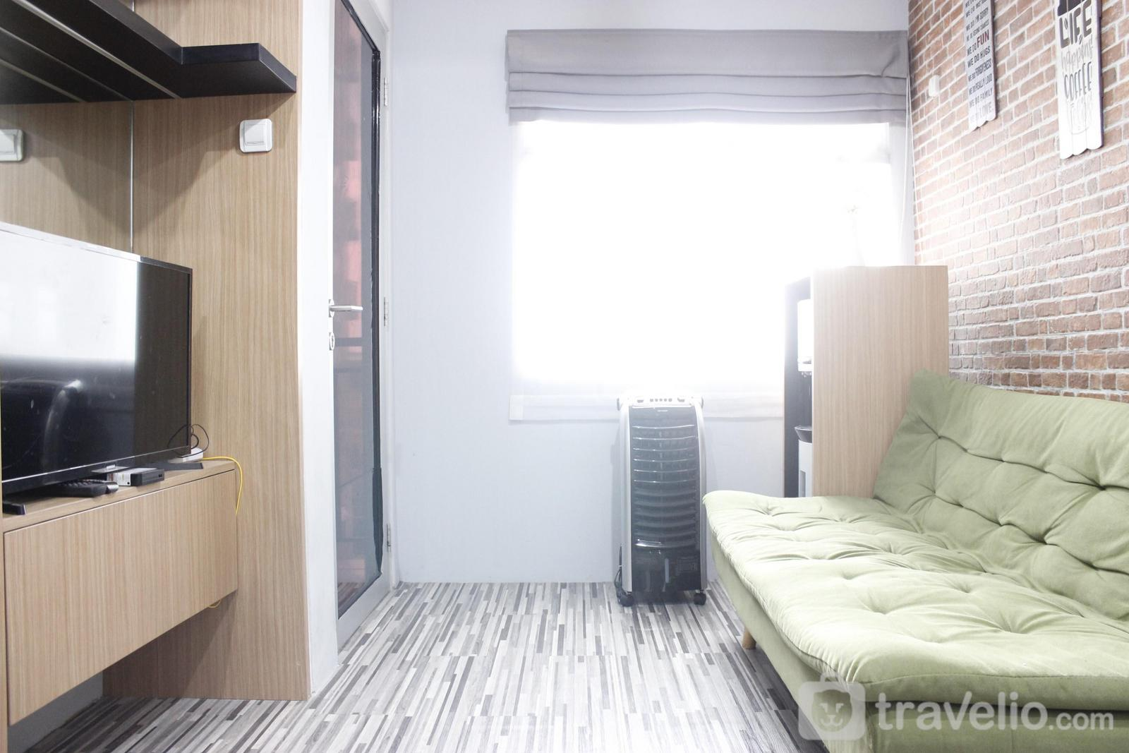 Grand Asia Afrika Apartment - Modern 2BR Apartment at Grand Asia Afrika Residence By Travelio