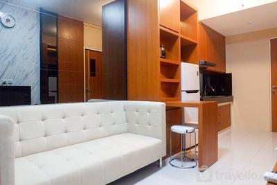 Comfortable 2BR Apartment at Puncak Dharmahusada By Travelio