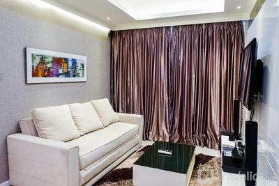 Furnished 1BR City View Casa Grande Apartment By Travelio
