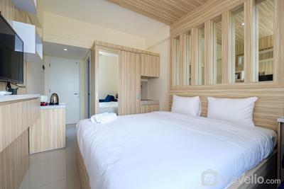 Elegant Studio Apartment @ Bogorienze Resort By Travelio