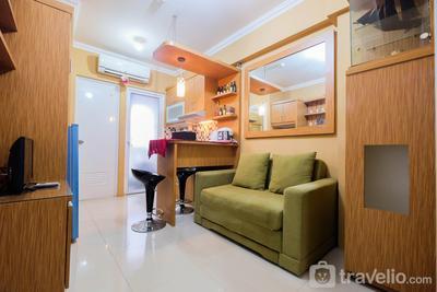 Cozy Stay 2BR @ Green Pramuka Apartment By Travelio