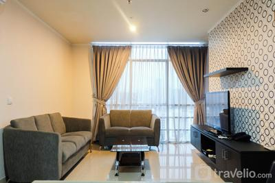 Spacious 3BR Apartment at Sahid Sudirman Residence By Travelio