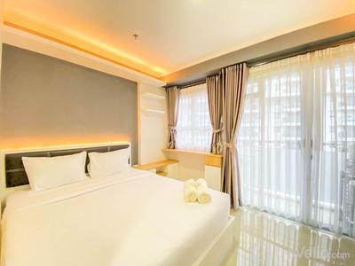 Cozy & Homey 1BR at Gateway Pasteur Apartment By Travelio