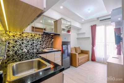Comfortable and Tidy 2BR Podomoro Golf View Apartment By Travelio