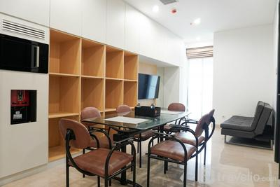 Wonderful and Cozy 2BR Apartment at Sudirman Suite By Travelio